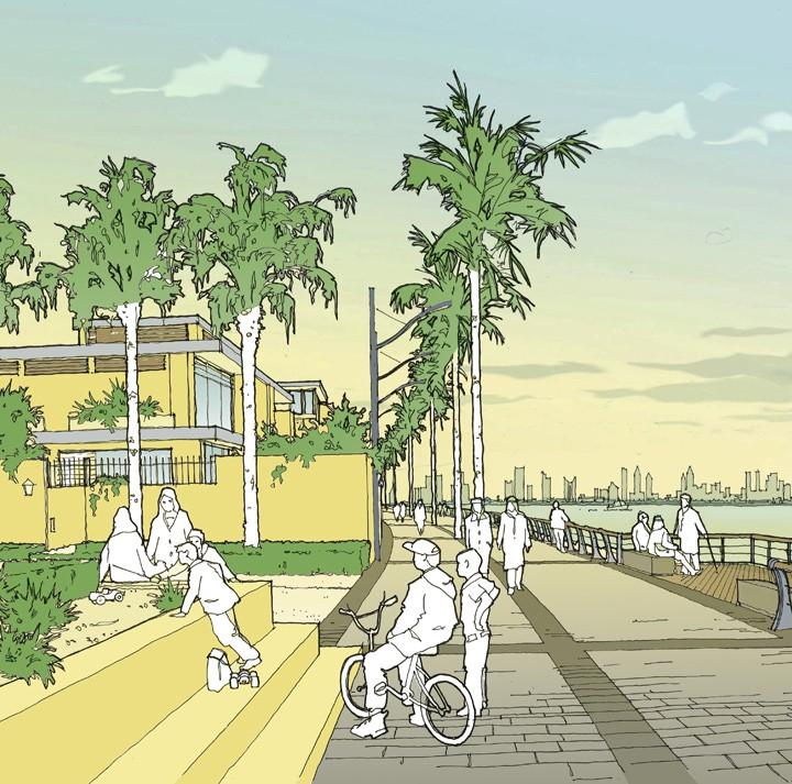 Landscape Architects - Dubai Promenade